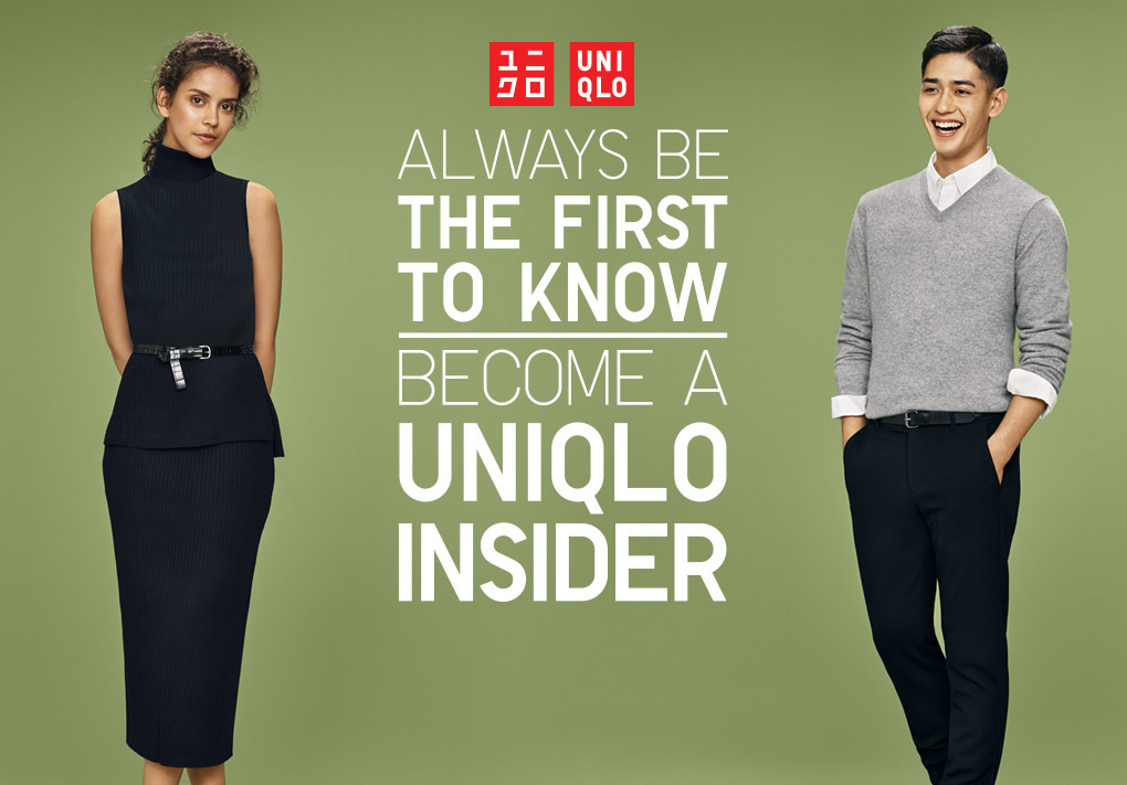 Become a Uniqlo insider for your chance to win a $1000 shopping spree!